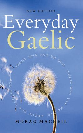 Everyday Gaelic | Learn Gaelic - so cool! This book covers more than just the phrases needed by an outsider in a foreign land - it also dips into the chatty, the personal and domestic aspects of the language. #StPatricksDay