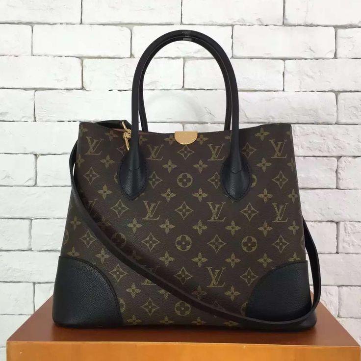 Louis Vuitton Monogram Canvas and Leather Flandrin Bag Email: winnie@shoecrazy.net