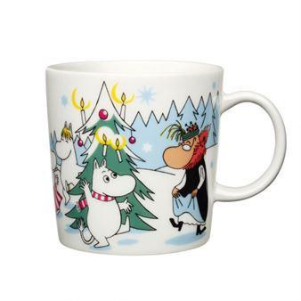 """Arabia Finland Seasonal Moomin Mug """"Under the Tree"""" <3 just ordered mine, hope it arrives soon! ^_^"""