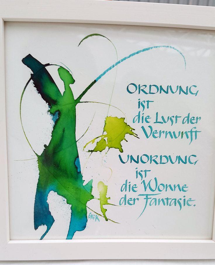 Schriftbilder – Calligraphy and Art – Sue Gyore