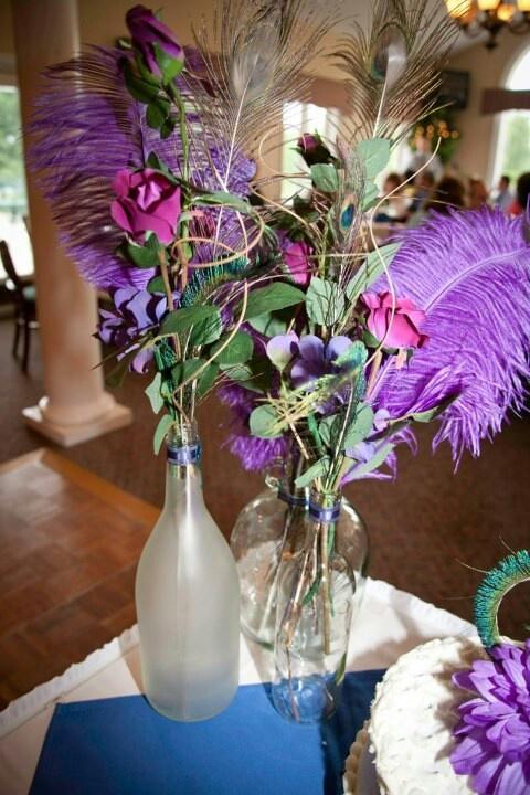 Wedding Centerpiece Ideas Using Wine Bottles : Centerpieces using wine bottles bff wedding ideas