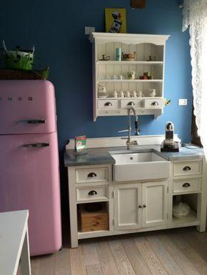 17 migliori idee su cucina anni 39 50 su pinterest cucine. Black Bedroom Furniture Sets. Home Design Ideas