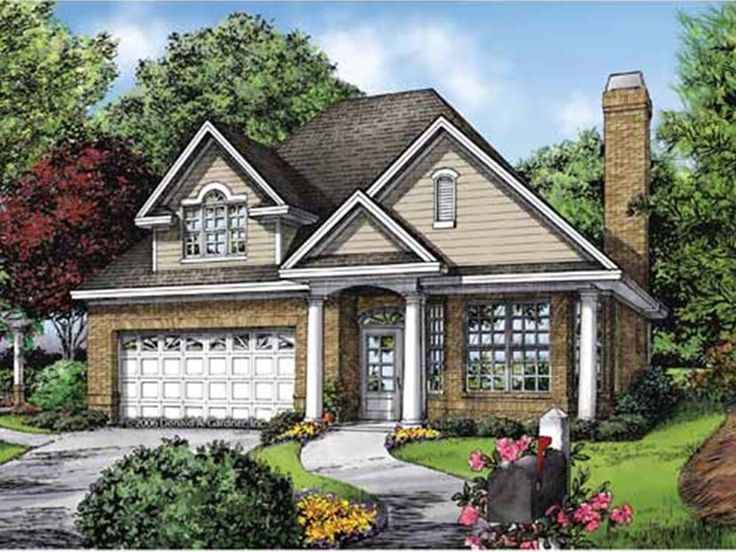 17 best ideas about narrow lot house plans on pinterest for Narrow ranch house plans