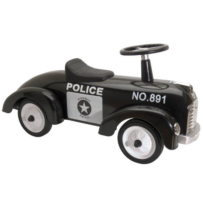 Gåbil Police Speedster med svart sits