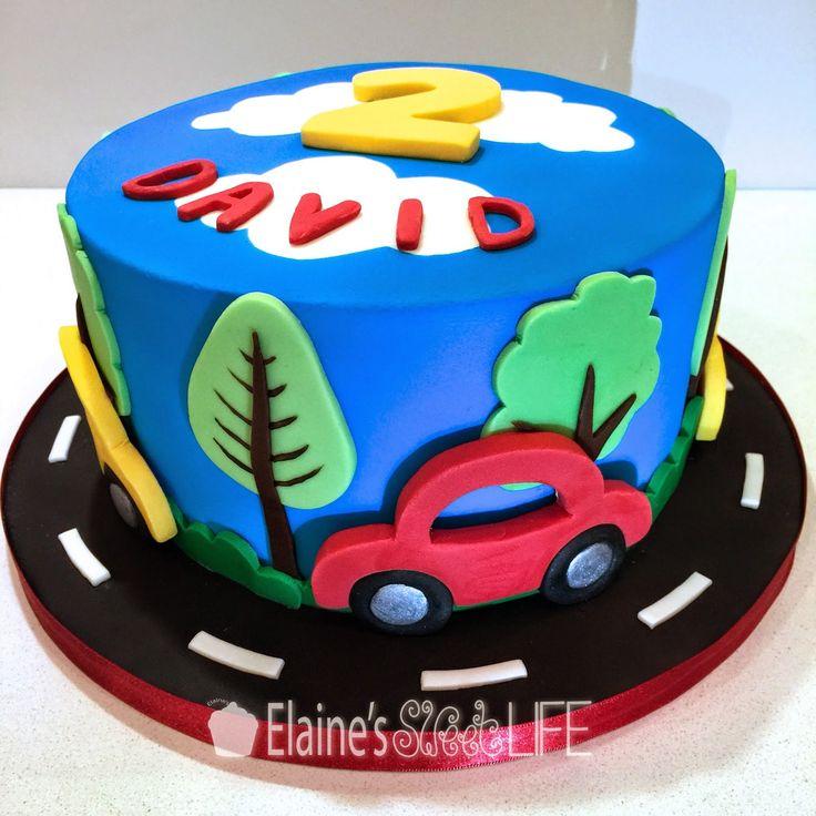 Cake Decoration Car : Best 25+ Car cake tutorial ideas on Pinterest 3d cake ...
