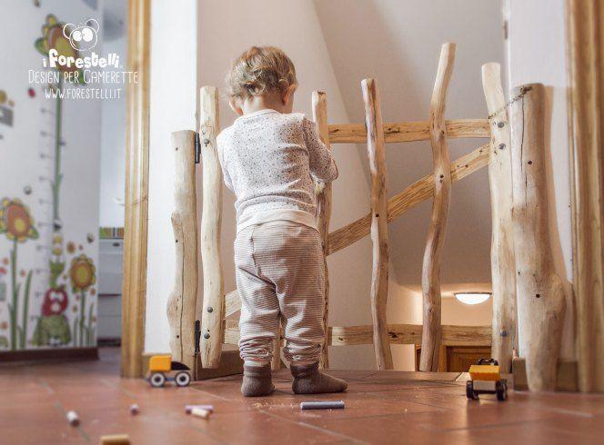 cancelletto per scale per la sicurezza dei bambini