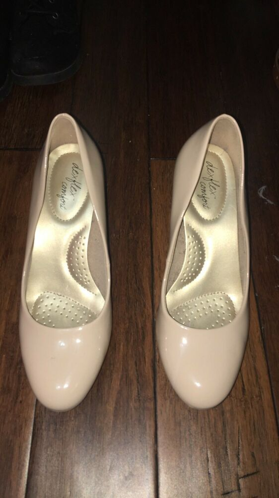 2f8b534d90 Nude Heels dexflex comfort size 5.5 #fashion #clothing #shoes #accessories  #womensshoes #heels (ebay link)