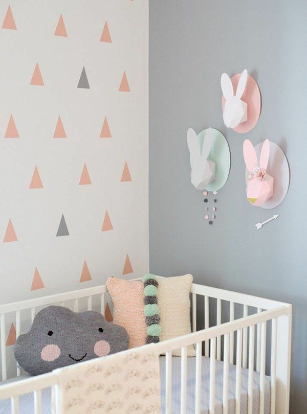 Cool Coyalnet Bunt Zimmer Baby Rosa Tapete With Tapete Kinder
