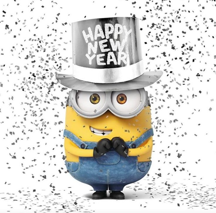 happy new year minion despicable me happy