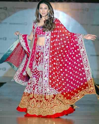 Designer Bridal Reception Lenghas   Marigold Events – Indian Wedding Inspirations, Wedding Lenghas ...