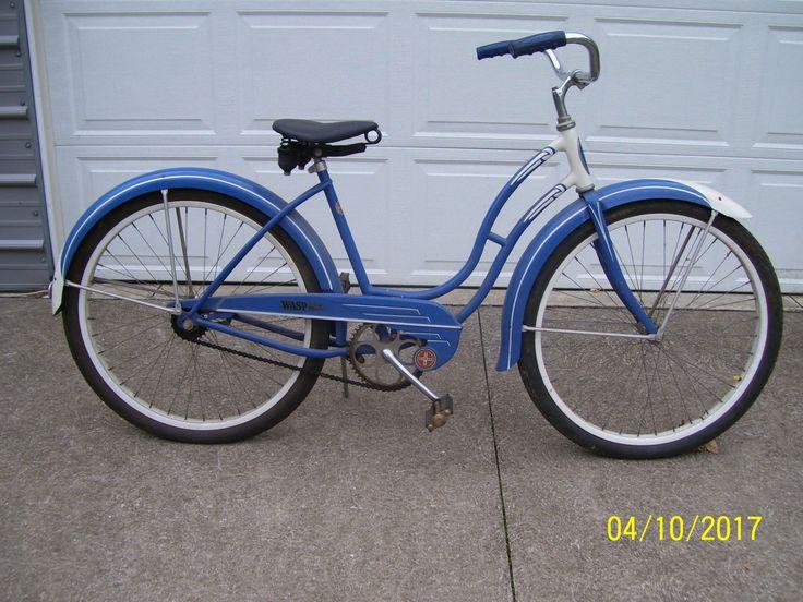 Image result for 50s schwinn bike blue