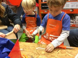FREE Construction Birthday Party at Home Depot? Brilliant! #constructionparty #partyideas #partyplanning