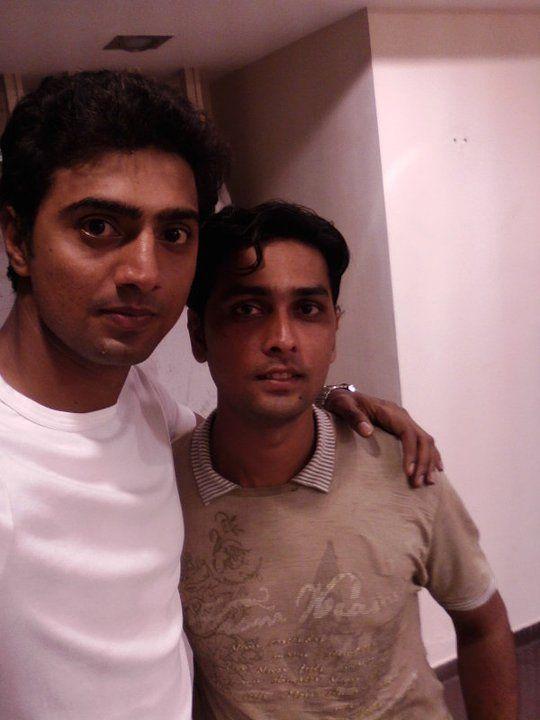 WITH BENGALI FILM ACTOR DEV