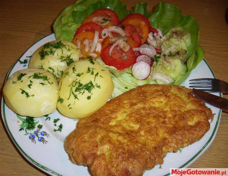 Most Traditional Polish Dinner Pork Chop With Potatoes