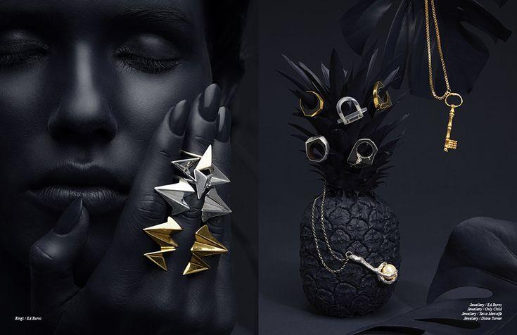 Left Rings / EA Burns Right Jewellery / EA Burns Jewellery / Only Child Jewellery / Tessa Metcalfe  Jewellery / Diane Turner