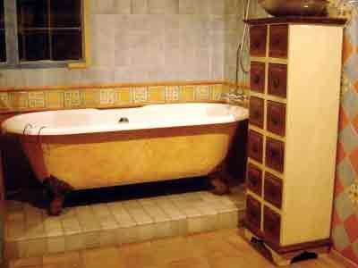 bath & cabinet