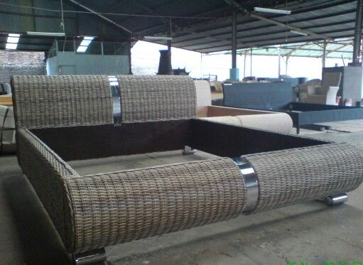$450 Rattan Bedroom knockdown by pratama.hegar@yahoo.com