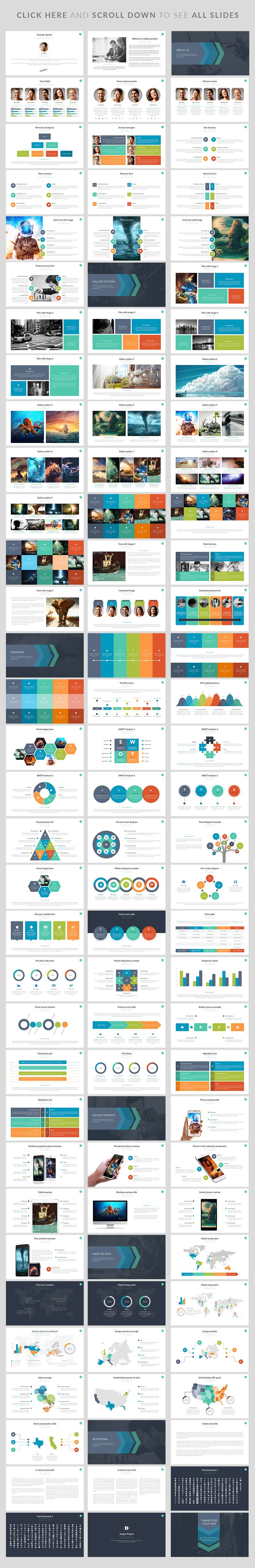 First Goal | Powerpoint Template by Zacomic Studios on Creative Market