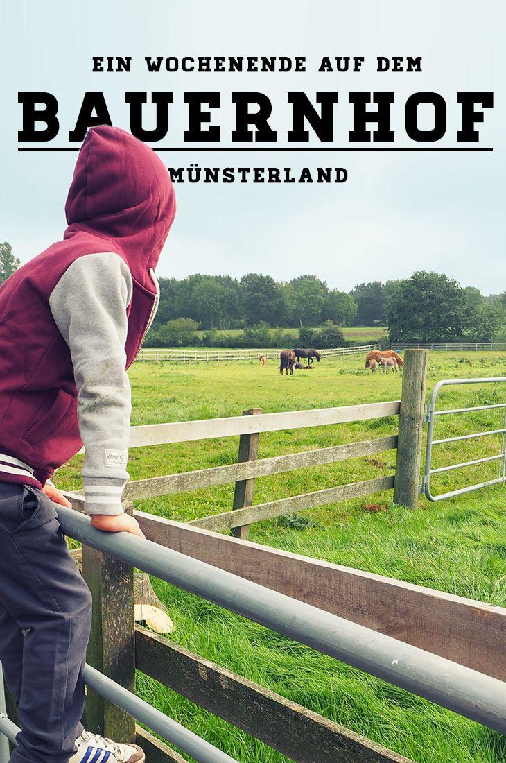 Hin und wieder sind wir auf Bauernhöfen anzutreffen. Dieses Mal im #Münsterland. #NRW #Wochenende