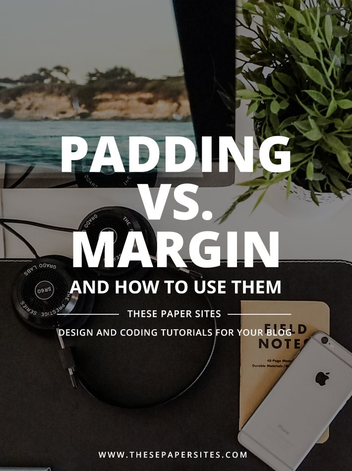 CSS Padding Vs Margin and how to use them - Some CSS properties are very easy to understand, like background-color, text-align, and font-size. Other CSS properties aren't so straight forward and require you to experiment with them a bit before truly understanding how they work with HTML elements. Today we're going to work on understanding the difference between padding and margin in CSS.