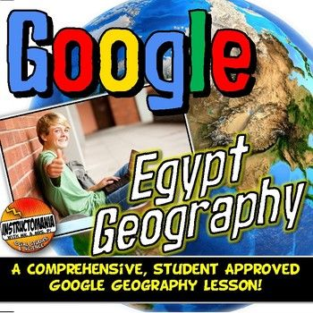 Start the Egypt unit with a fun, student-centered, inquiry-based Google Geography Scavenger Hunt! This comprehensive Google Geography lesson has been both student and teacher approved with an overwhelming thumbs-up! It embodies all of the cool geography capabilities of Google Maps and Google Earth in a digital geography interactive notebook format complete with a Google forms physical geography assessment at the end.