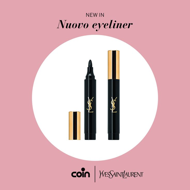 Il tratto potente e super definito del nuovo eyeliner YSL ci aiuta a tracciare un confine ideale tra make up e previsioni di bellezza. Prova Eye marker Scandal Collection Couture negli store Coin!