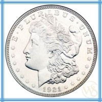 Invest in Silver Morgan Dollar! It is one of the most collected coins in our history. It is designed by George T. Morgan and was minted in 1878. It was the first standard silver dollar minted.