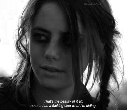Kaya Scodelario / Effy from tv show skins (uk)