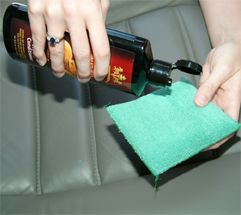 Leather Cleaning and Care: clean and condition leather seats with premium leather care products. leather care, leather cleaner, auto leather...