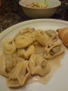 Mushroom and Sweet Italian Sausage Tortelloni (Progresso Recipe Starters and Buitoni Pasta)  ThriftyTsTreasures.com