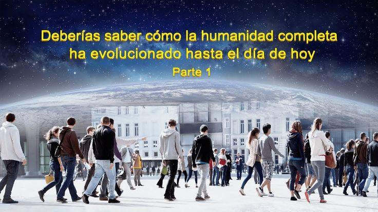 Dios te habla   Debes saber cómo la humanidad completa ha evolucionado h... #ElReinoDeDios #ElSeñorJesús #LaObraDeDios