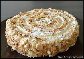 gâteau praliné