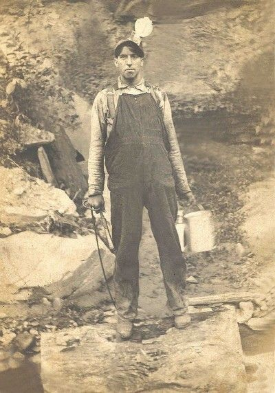 Early 20th Century West Virginia #Coal Miner.