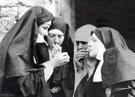Rebels.Smoke Breaking, Go Girls, Old Day, Interesting People, Bad Habits, Funny Truths, Smoke Nun Lol, Old Photos, Girls Eye