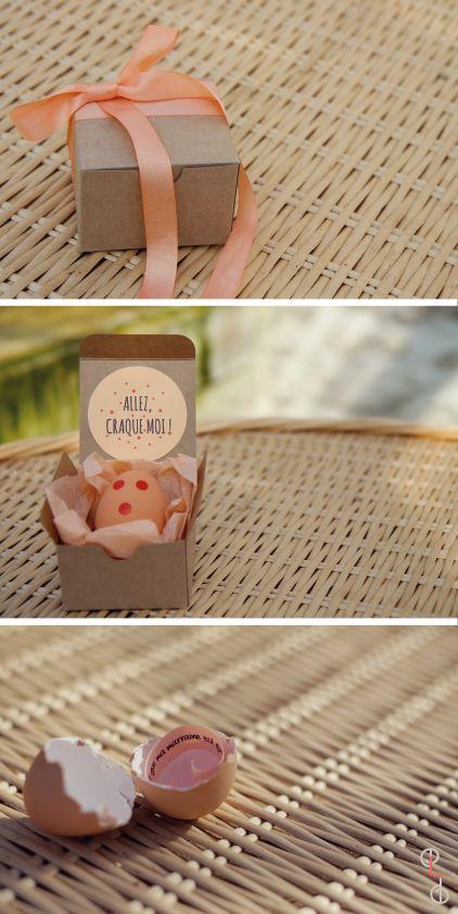 Des petites boîtes originales et personnalisables qui permettent d'#annoncer…