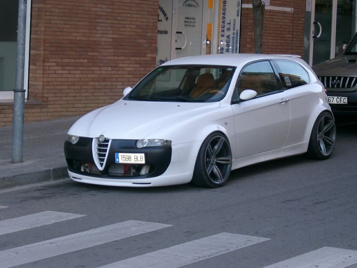 alfa romeo 147 white - photo #36
