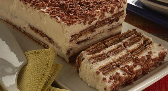 La ricetta della torta fredda con wafers e crema | Ultime Notizie Flash