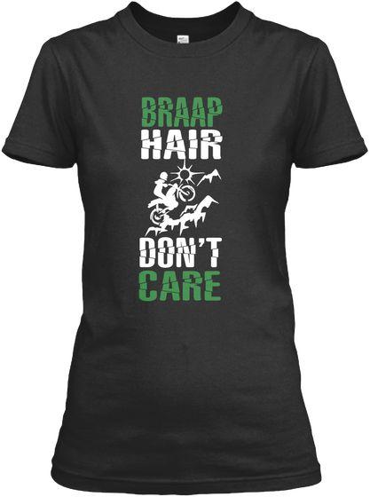 Braap Hair Don't Care Biker Lady T #BMX, #MountainBike, #Cycling, #DirtBike #bike #biking #ismybikeok #motorcycle #ride #rider #motocross 65432N1 1 Down 5 Up - Motorcycle # biker, chopper, bobber, #racing, #motorcyclist, #ride, #riding motorcycle, racing, mudding, #motocross, mx, motorcyclist, motorcycling, #dirtbike, #braap, racing motorcycle hoodie, motorcycle t-shirt, motorcycle shirts, motorcycle club shirts, motorcycle shirts for women MotoGP GATO shirt, #1Down5Up - #65432N1 shirt