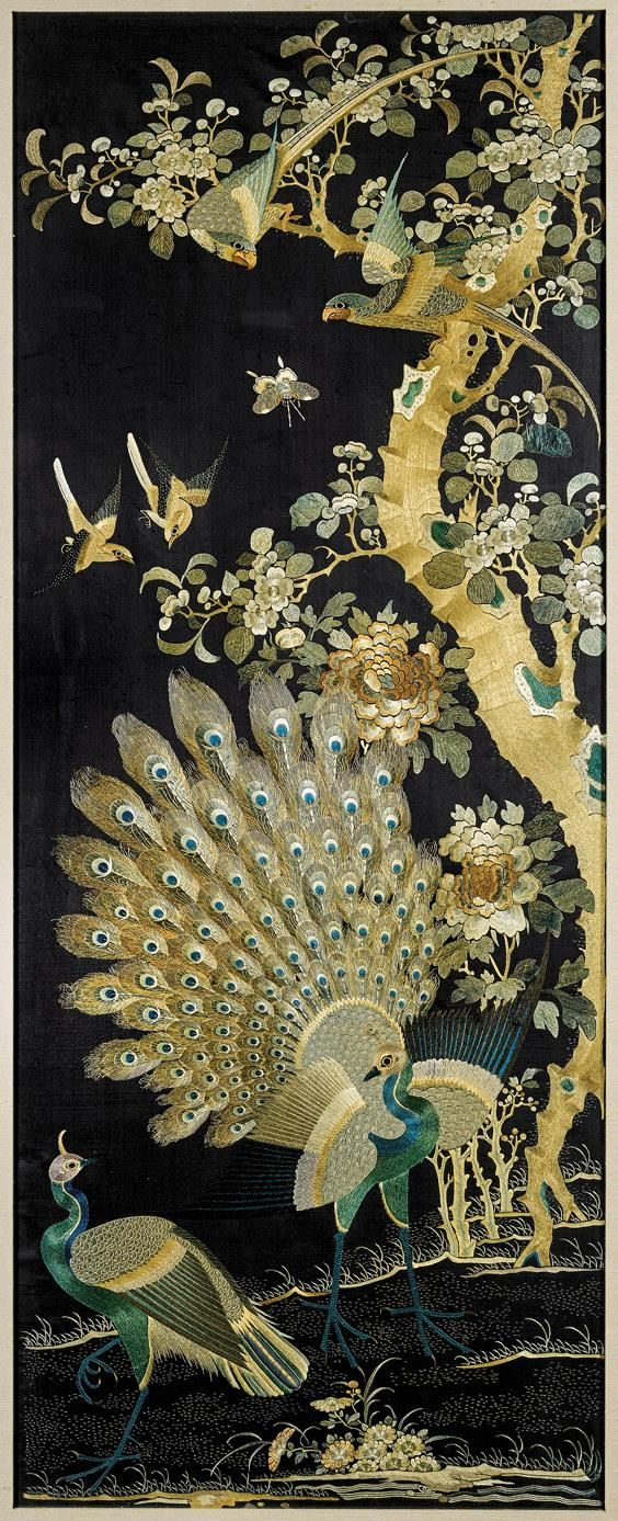 65 Best Images About Embroidered Panels On Pinterest