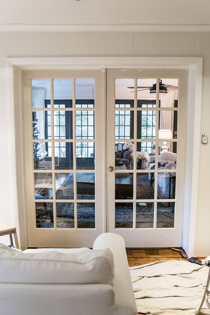 The Best Trick For Painting French Doors French Doors