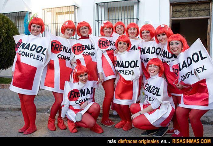Disfraces originales frenadol complex humor e im genes - Disfraces carnaval original ...