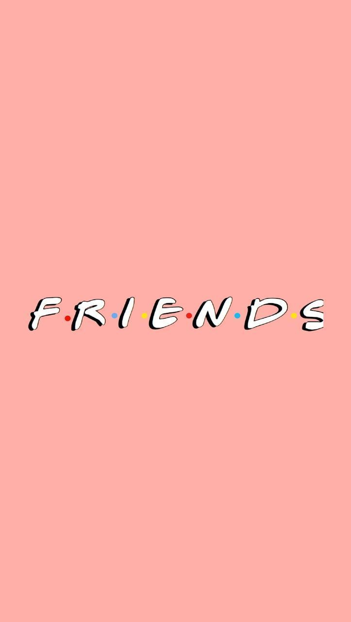 Friends Pink Iphone Wallpaper Free To Use On We Heart It In 2020 Friends Wallpaper Iphone Wallpaper Images Iphone Background Wallpaper