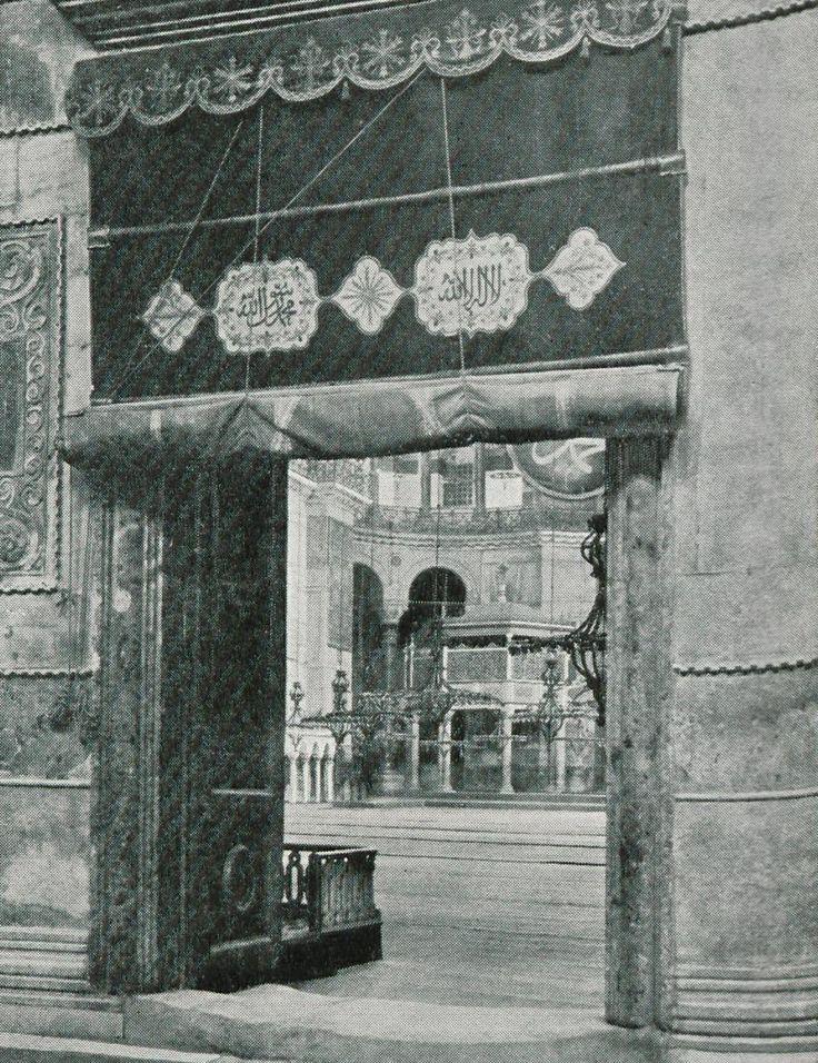 Ayasofya Camii, 1909