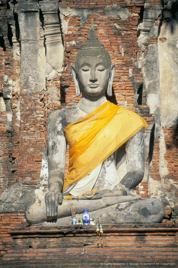 Image detail for -BUDDHA IN AYUTTHAYA, THAILAND