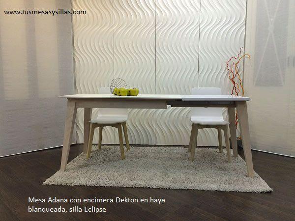 22 best mesas dekton de estilo nordico cocina comedor for Mesa 80x80 extensible