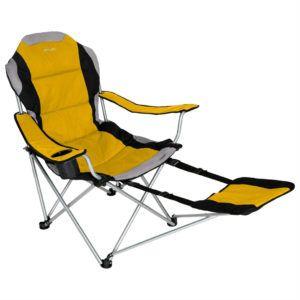 Yellow Folding Camp Chairs