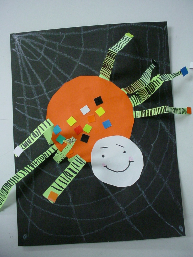 spider craft ideas silly spider project kindergarten 2982