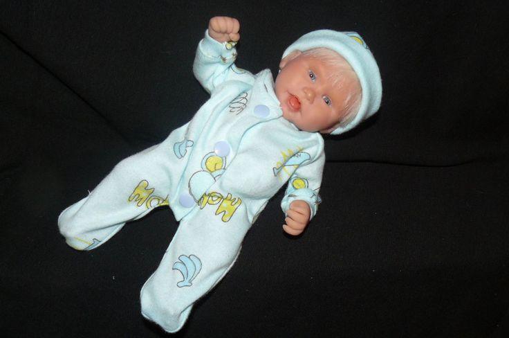 OOAK Original Artist Sculpt Polymer Clay Art Doll 9 inch  - DS Baby Jackson | eBay