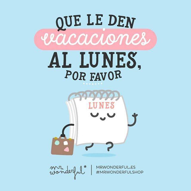 Mejor tomarse el lunes con buen humor… ¿no? #mrwonderfulshop #felizlunes  The best way to face Monday is with a sense of humor, don't you think?
