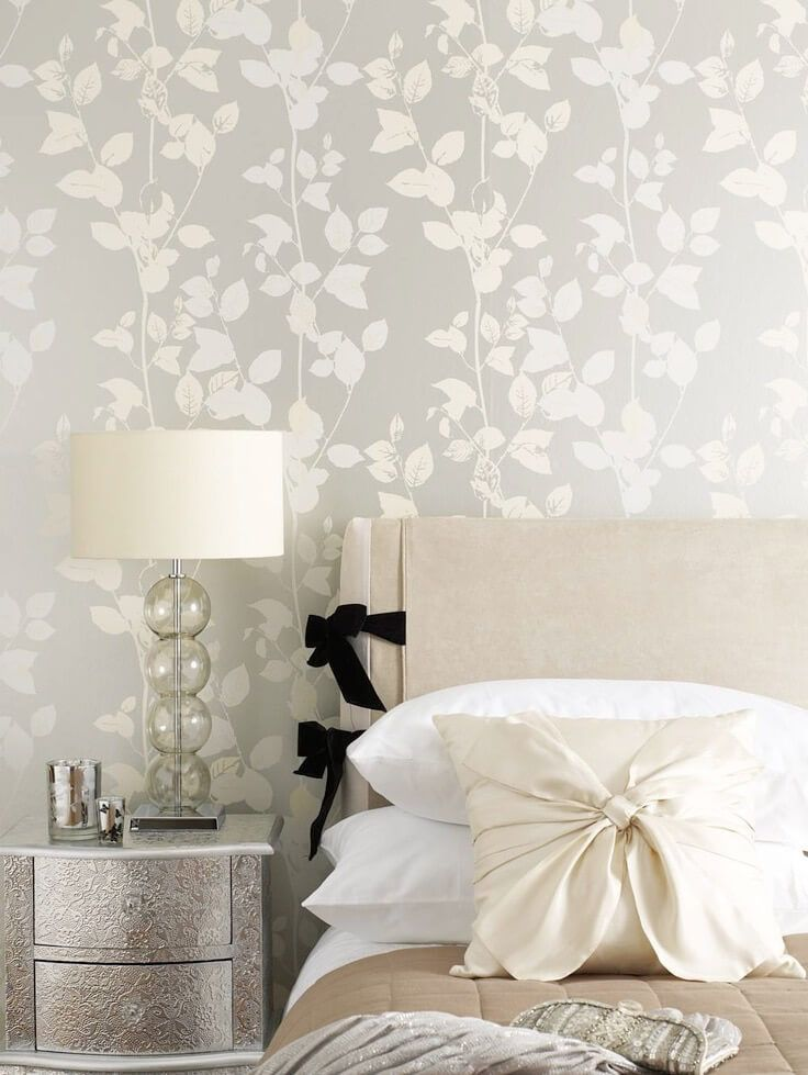 Metallic wallpaper is a huge trend this year  Find out how to use it the. 17 best ideas about Bedroom Wallpaper on Pinterest   Wallpaper